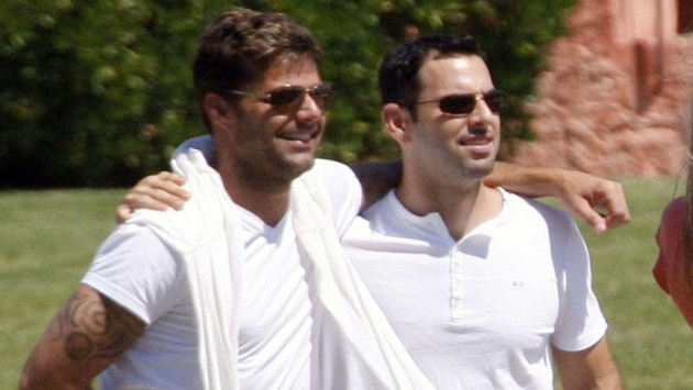 Who Ricky Martin grie